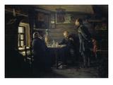 In a Russian Tavern, 1872/1873 Giclee Print by Wladimir J. Makovskij