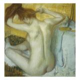 Woman at Her Toilette, 1885 Prints by Edgar Degas