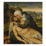 Lamentation of Christ Giclee Print by Willem Key