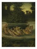 Elves Dancing around a Grove, around 1860 Giclée-Druck von Moritz Von Schwind