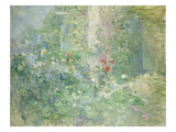 Berthe Morisot - Garten in Bougival, 1884 - Giclee Baskı
