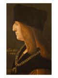 Kaiser Maximilian I, 1502. after 1508 Giclee Print by Giovanni Ambrogio De Predis