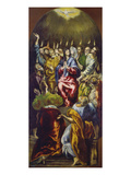 The Pentecost, about 1605/10 Print by  El Greco