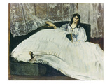 Dame Mit Faecher (La Maitresse De Baudelaire), 1863 Giclee Print