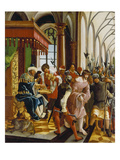 Passions/Sebastians-Altar in St. Florian Christ in Front of Pilatus Giclee Print by Albrecht Altdorfer