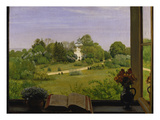 The Oed, View of Holzhausenpark, Frankfurt, 1883 Giclee Print by Hans Thoma