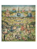 The Garden of Earthly Delights. Central Panel of Triptych Poster von Hieronymus Bosch