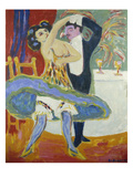 Vaudeville Theatre, 1912/13 Posters by Ernst Ludwig Kirchner