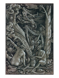 The Witches at the Sabbath Print by Hans Baldung Grien