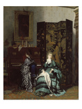 Chopin, 1873 Giclee Print by Albert Keller