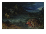 Jonah Leaves the Whale Giclee Print by Jan Brueghel the Elder