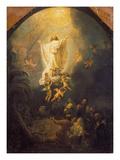 Ascension of Christ, 1636 Giclée-tryk af Rembrandt van Rijn