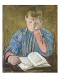 Reading Girl, 1894 Giclee Print by Mary Cassatt