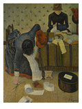 The Milliners, 1885/86 Giclee Print by Paul Signac