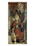 Altarpiece of Four Latin Doctors: Centre Panel, Right Hand Side, Pope Gregory the Great, about 1480 Giclee Print by Michael Pacher