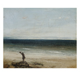 The Seashore at Palavas, 1854 Impression giclée par Gustave Courbet