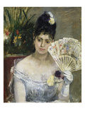 At the Ball, 1875 Giclee Print by Berthe Morisot