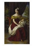 Portrait of Fanny Ebers, 1826 Giclee Print by Friedrich Wilhelm von Schadow