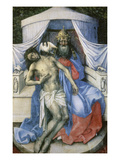 Trinity. Left Panel of a Diptych Giclee Print by Master of Flemalle 