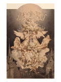 The Christmas Dream Giclee Print by Ludwig Richter