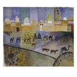 Kairouan I, 1914 Wydruk giclee autor Auguste Macke
