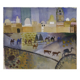 Kairouan I, 1914 Giclee Print by Auguste Macke