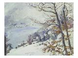 Der Walchensee Im Winter, 1923 Giclee Print by Lovis Corinth