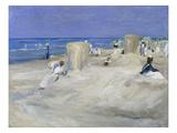 Am Strand Von Nordwijk, 1908 Giclee Print by Max Liebermann