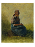 Peasant Girl with Folded Hands, 1837 Posters by Carl Spitzweg