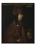 Duke Ludwig Iv., the Bavarian (1283-1347) Giclée-tryk af German School