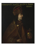 Duke Ludwig Iv., the Bavarian (1283-1347) Giclee Print by  German School