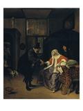 Die Liebeskranke Giclee Print by Jan Stehen