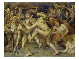 Ulysses in a Fight with a Beggar, 1903 Prints by Lovis Corinth