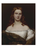 Wilhelmine Sulzer.From the Gallery of Beauties Gathered by Ludwig I of Bavaria Giclee Print by Joseph Karl Stieler