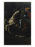 "Triptych ""The Three Horsemen"", Right Panel: St. George, 1885/1887 Giclee Print by Hans Marées"