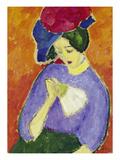 Dame Mit Faecher, 1909 Posters by Alexej Von Jawlensky