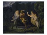 Erlkoenig, 1830/1835() Giclee Print by Ludwig Ferdinand Schnorr von Carolsfeld