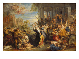 Massacre of the Innocents, about 1636/38 Giclee Print by Peter Paul Rubens