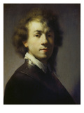 Self Portrait, about 1629 Giclee Print by  Rembrandt van Rijn