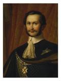 Max Ii. Joseph, King of Bavaria, as Hubertus Knight (1811-1864). Head Giclee Print by Wilhelm Von Kaulbach