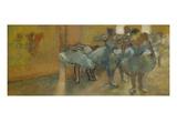 Dancers in the Foyer, about 1889 Giclée-Druck von Edgar Degas