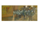 Dancers in the Foyer, about 1889 Giclee Print by Edgar Degas