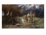 The Furies, 1870 Giclee Print by Arnold Bocklin