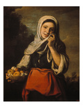 The Orange Seller, about 1660 Giclee Print by Bartolomé Estéban Murillo