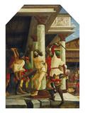 Passions/Sebastians-Altar in St. Florian Castigation Christ Prints by Albrecht Altdorfer