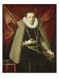 Portrait of Albrecht the Pious, Archduke of Austria Giclee Print by Juan Pantoja De La Cruz