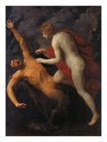 Apollo Mistreats Marsyas, about 1633 Poster von Guido Reni