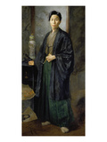 Portrait of Naojiro Harada, 1884 Giclee Print by Julius Exter