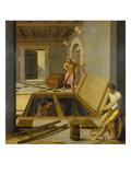 Cellar Scene, 1537 Giclee Print by Felix Chretien