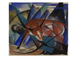 The Bull, 1913 Poster by Franz Marc